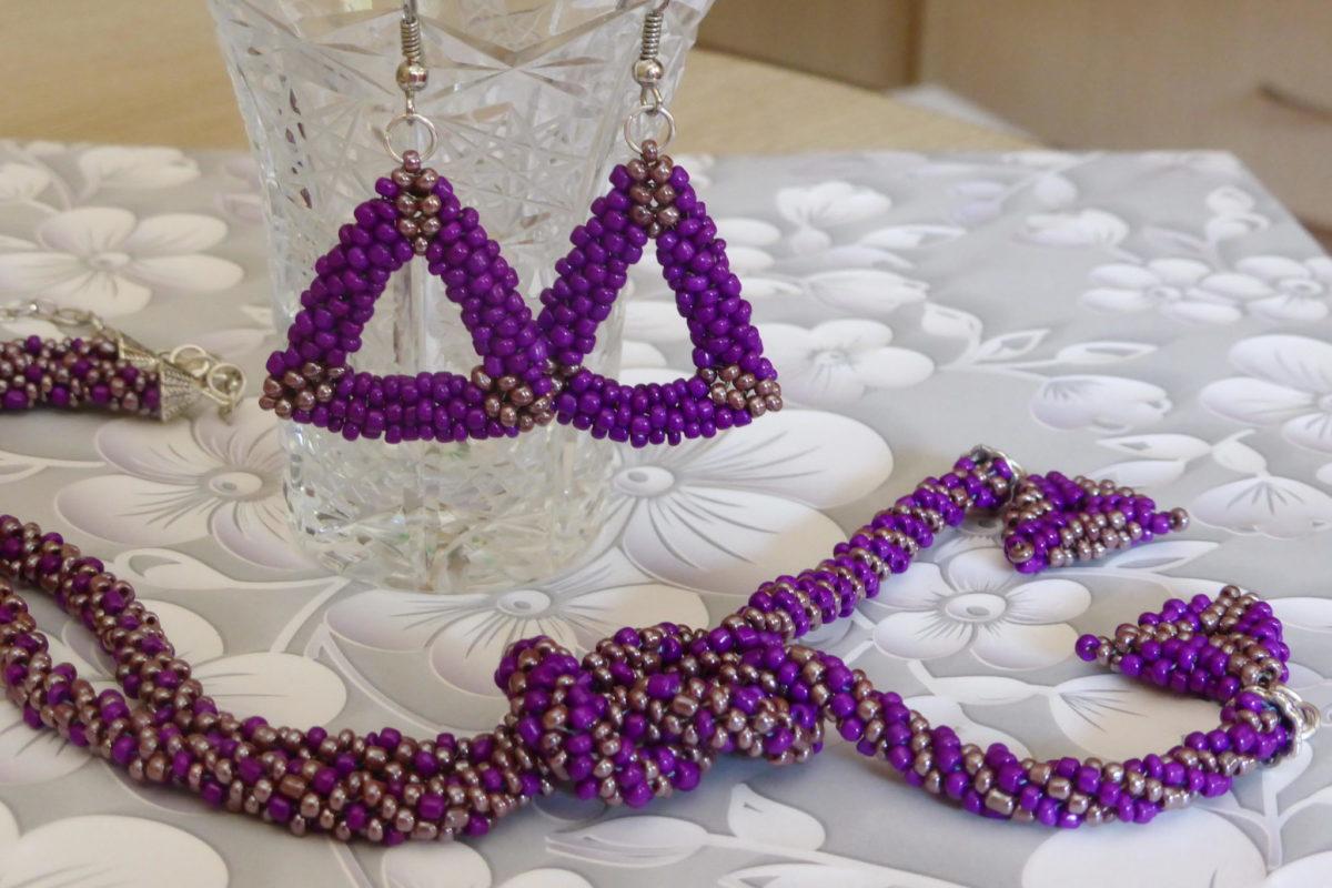 Kako se pravi cevasta ogrlica od perlica?