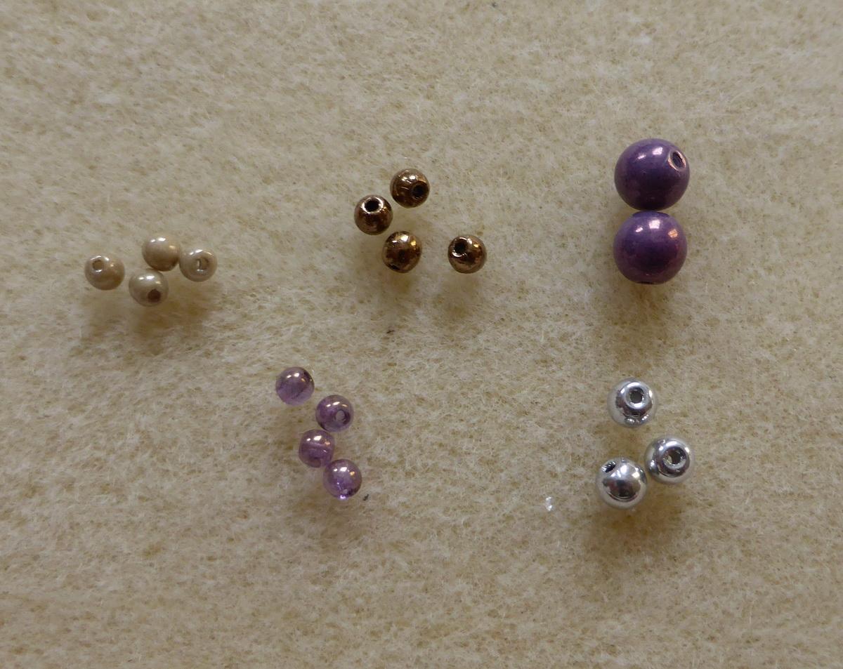 Presovane okrugle perle