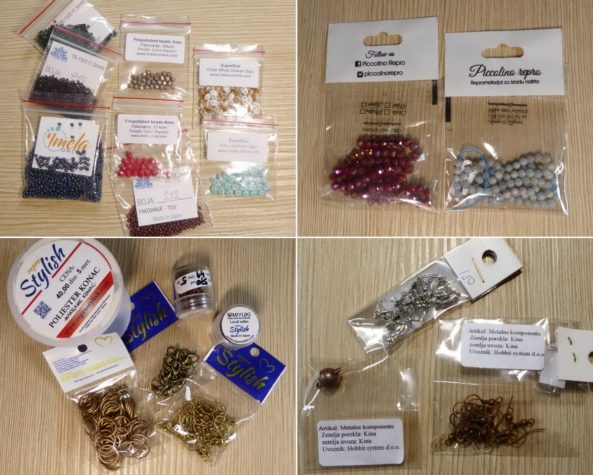 Kupovina materijala za nakit u Srbiji