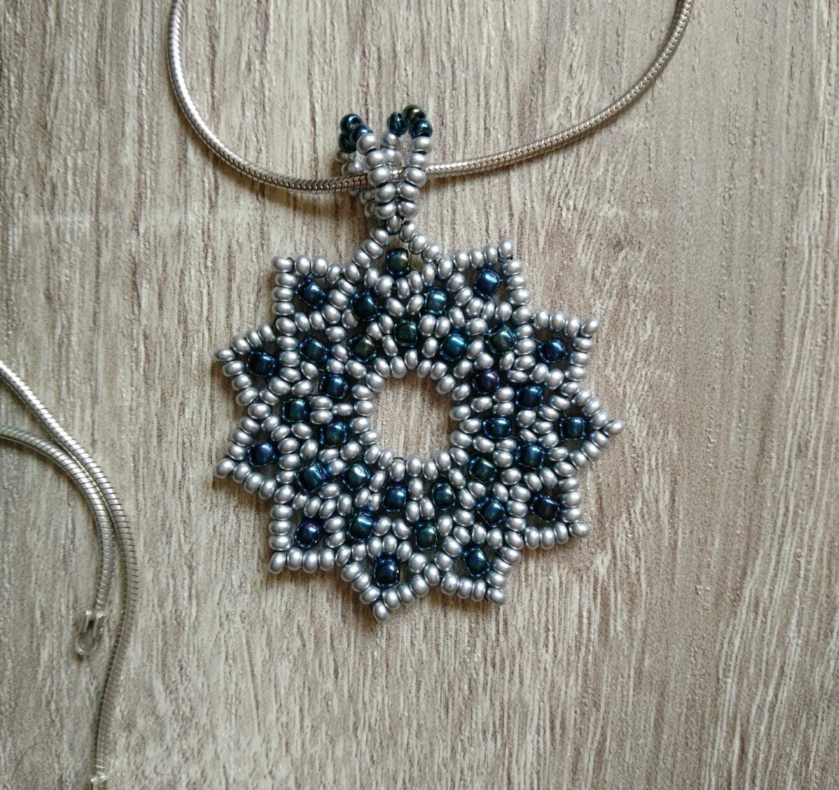 Srebrno-plava zvezda