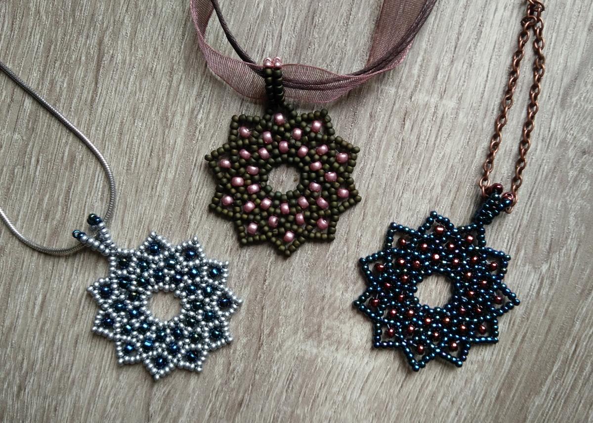 Tri čipkaste zvezde